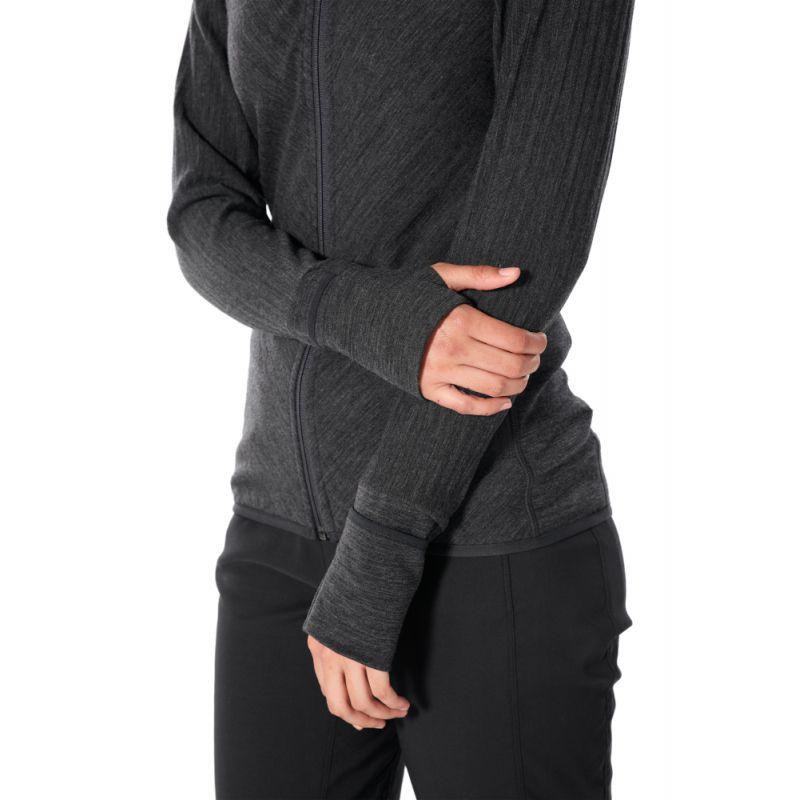 Icebreaker Descender LS Zip Hood - Sweat à capuche femme
