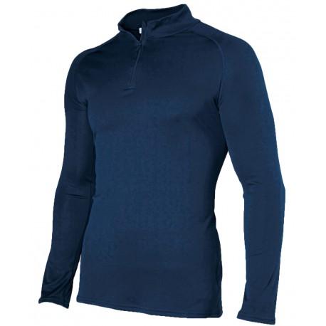 Damart Sport col zippé Easy Body 4 - T-Shirt homme