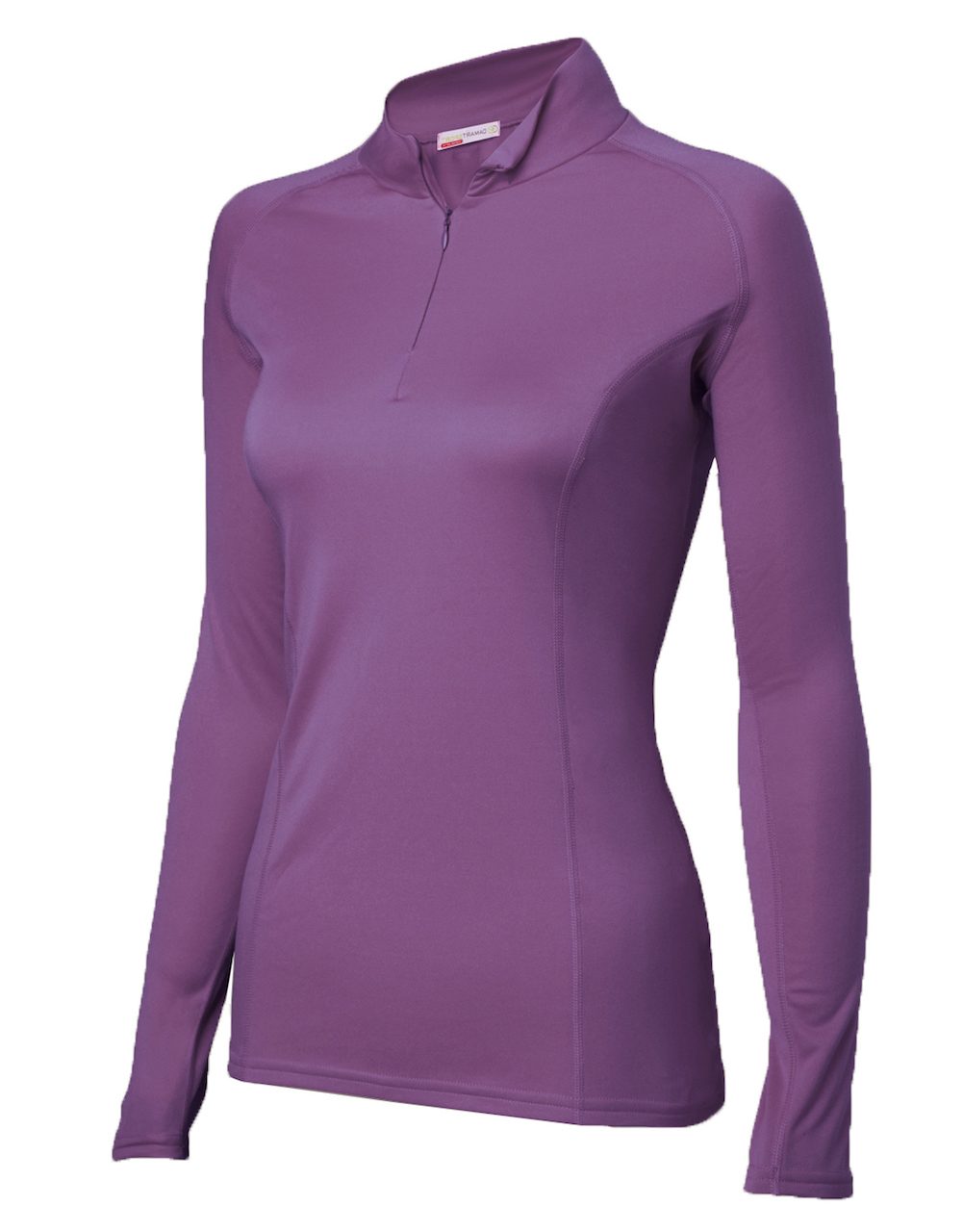 Damart Sport col zippé Easy Body 4 - T-Shirt femme