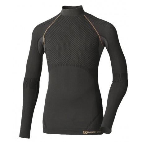 Vêtements   équipements Homme Vêtements Sous-vêtements sport homme Sous- vêtements thermiques homme Activ Body 3 - T-Shirt col montant homme 121cb39111d