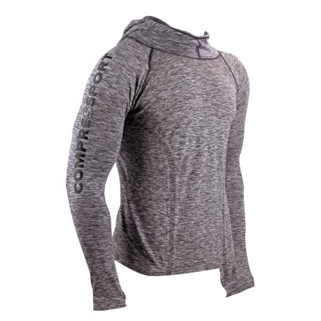 Compressport 3D Thermo Seamless Hoodie - Maillot homme