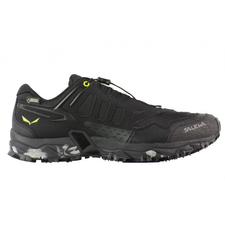 MS Ultra Train GTX - Chaussures trail homme Black / Swing Green 41  Baskets Hautes Homme narKH0dx