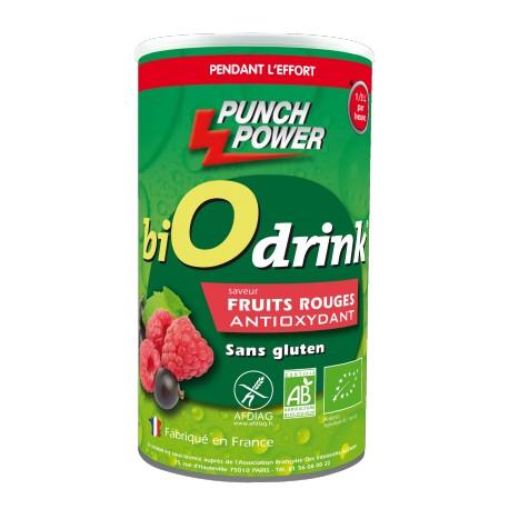 Punch Power BiOdrink Antioxydant Fruits rouges sans gluten - Boisson énergétique