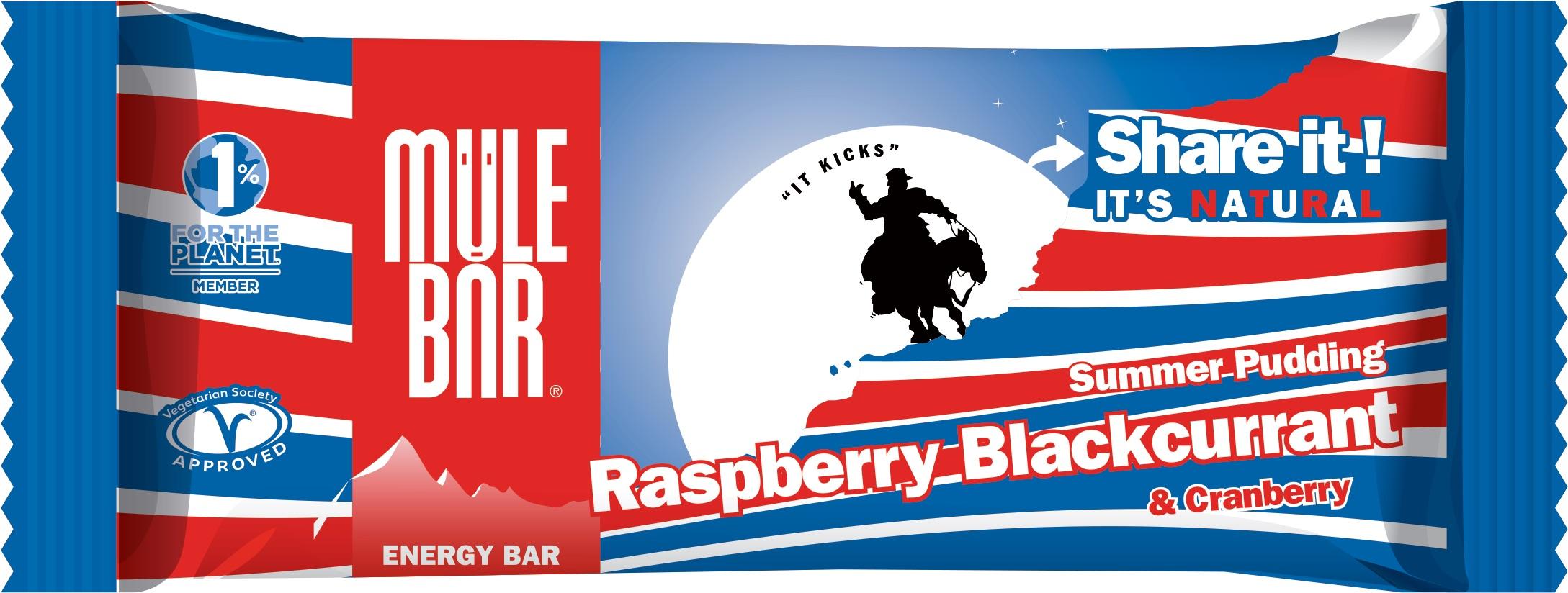 Mulebar Barre énergétique Summer Pudding - 40 g