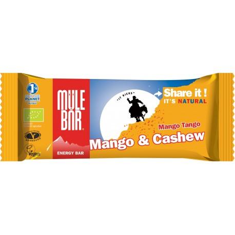 Mulebar Barre énergétique Mango Tango Bio - 40 g