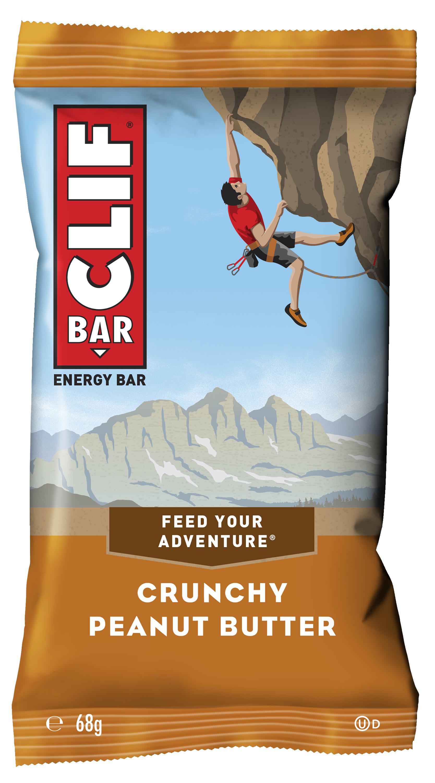 Clif Bar Barre énergétique Clif Bar - Beurre de cacahuètes avec morceaux