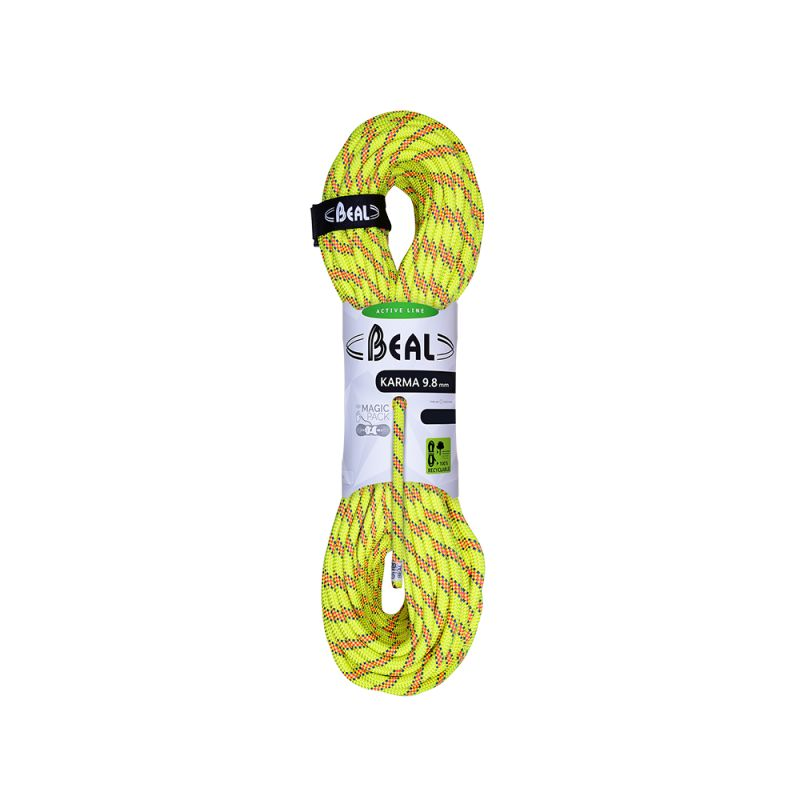 Beal Karma 9,8 mm - 80 m - Corde à simple