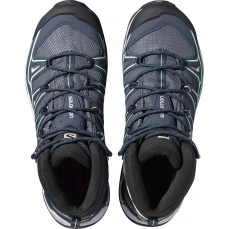 X-Ultra Mid 2 GTX® - Chaussures trekking femme Grey Denim / Deep Blue / Lucite Green 36.2/3 X-Ultra Mid 2 GTX® - Chaussures trekking femme Grey Denim / Deep Blue / Lucite Green 36.2/3 7aZMFOV2lS
