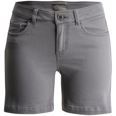 Femme Black Font Diamond Stretch Shorts Short Escalade shtQrCdxBo