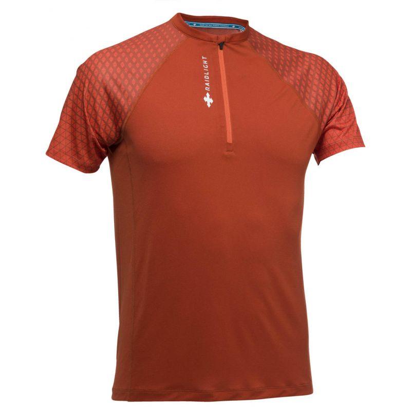 Raidlight Activ Run Ss Shirt Mid Zip - T-shirt homme