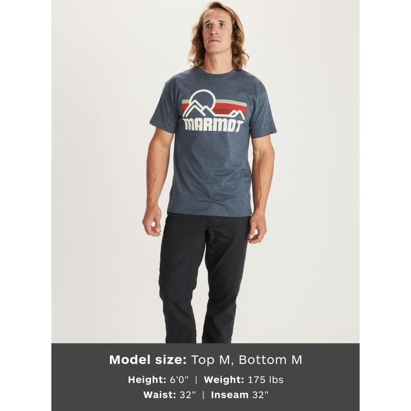 Marmot Marmot Coastal Tee SS - T-shirt homme