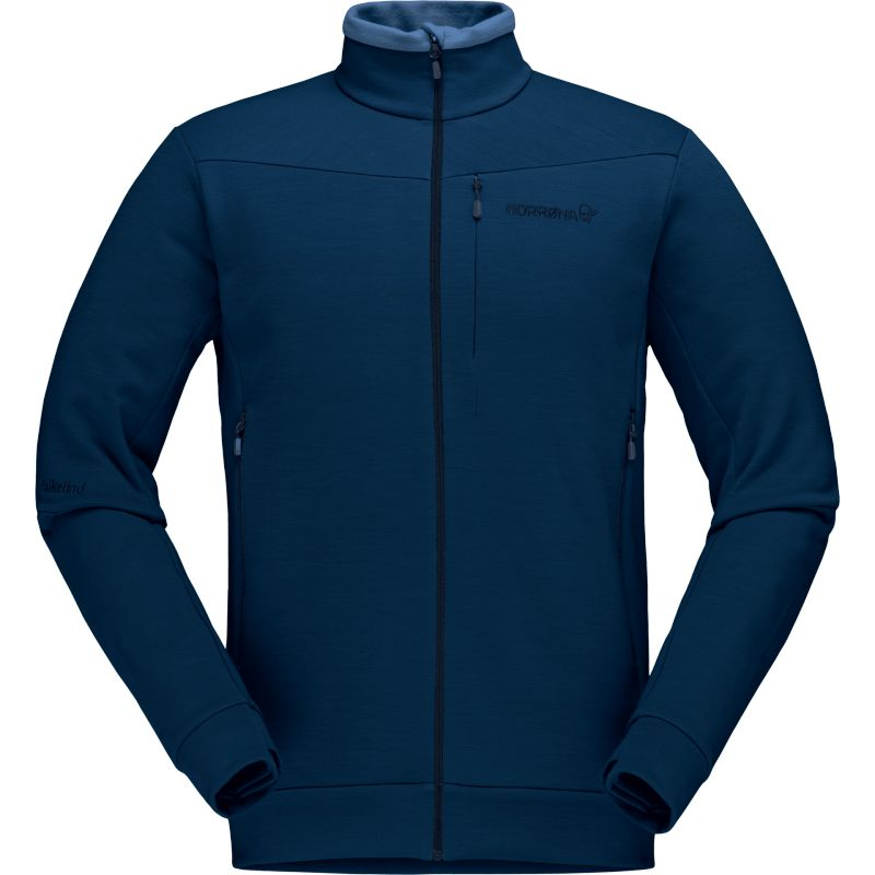 Norrona Falketind Warmwool2 Stretch Jacket - Polaire homme