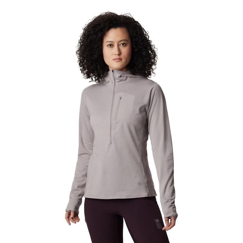 Mountain Hardwear Type 2 Fun 3/4 Zip Hoody - Polaire femme