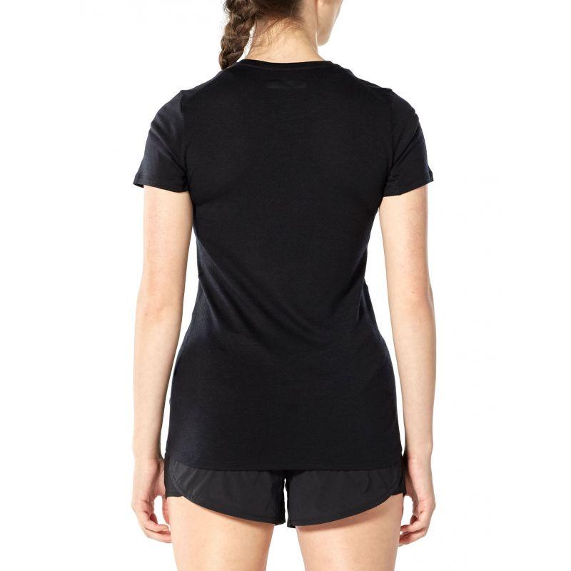 Icebreaker Amplify Short Sleeve Low Crewe - T-shirt femme