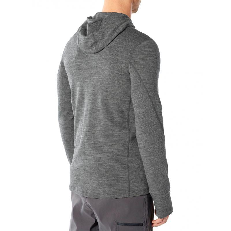 Icebreaker Quantum II Long Sleeve Zip Hood - Veste homme
