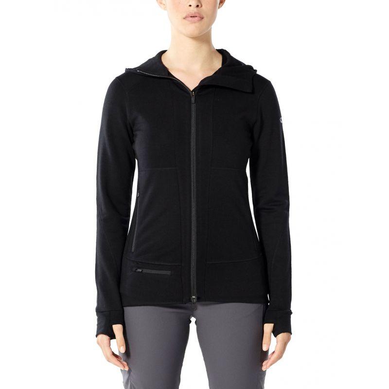 Icebreaker Quantum II Long Sleeve Zip Hood - Veste femme