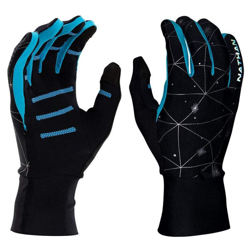 Nathan Hypernight Reflective Glove - Gants running femme