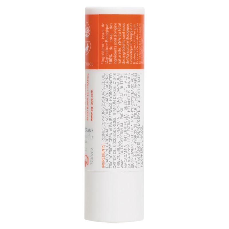 EQ Stick à lèvres SPF30 - Stick solaire - Certifiée Bio