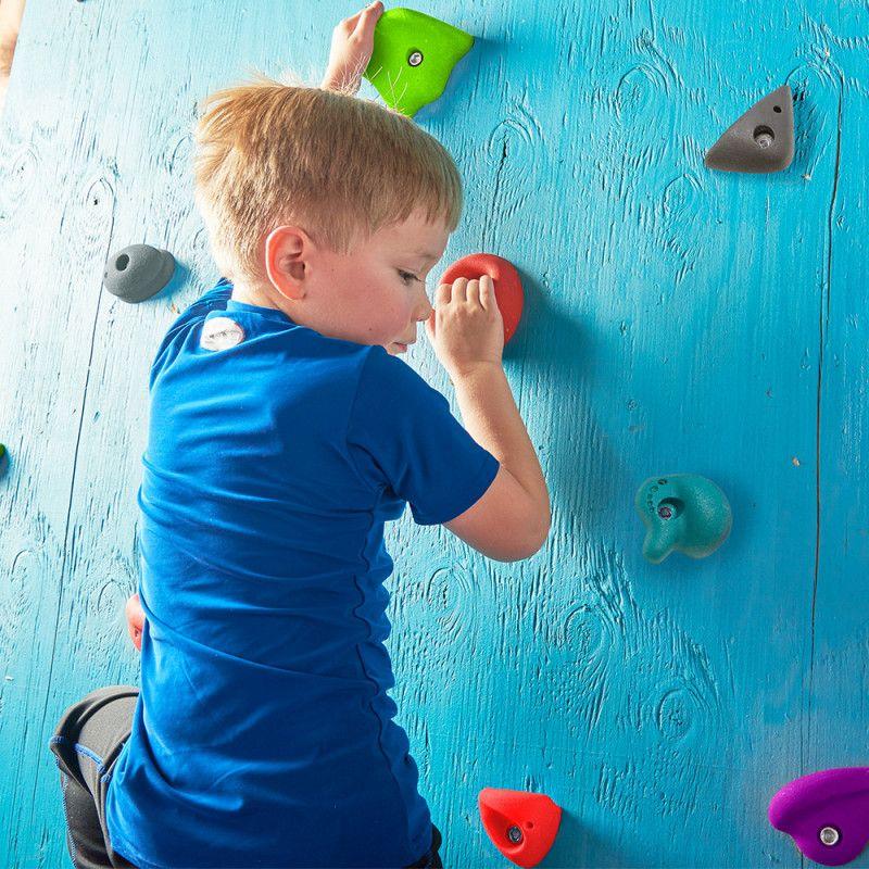 Vewdo Slakers climbing kit  (x22 prises d'escalade) -  Kit escalade enfant