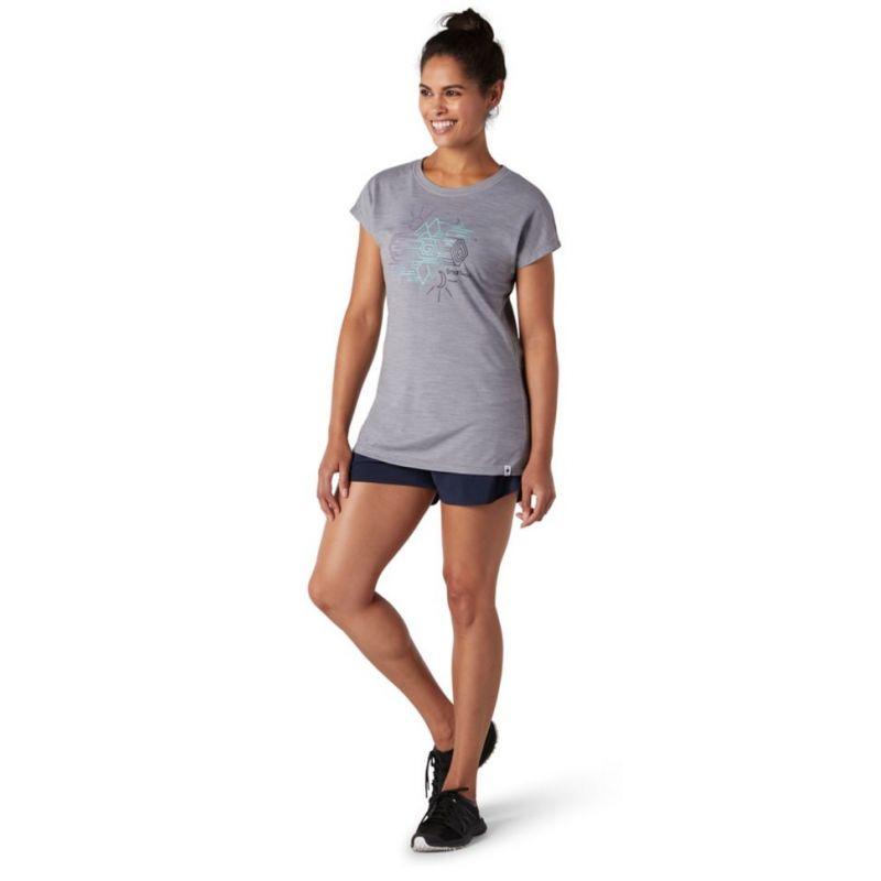 Smartwool Merino Sport 150 Mountain Reflection Tee - T-shirt femme