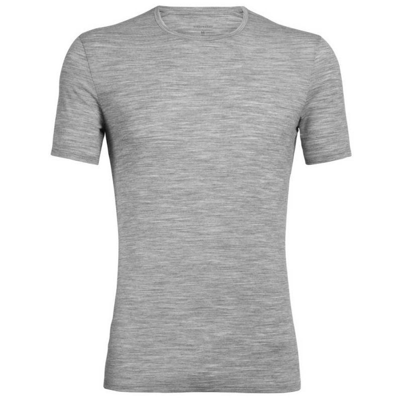 Icebreaker Anatomica Short Sleeve Crewe en Mérinos - T-shirt homme