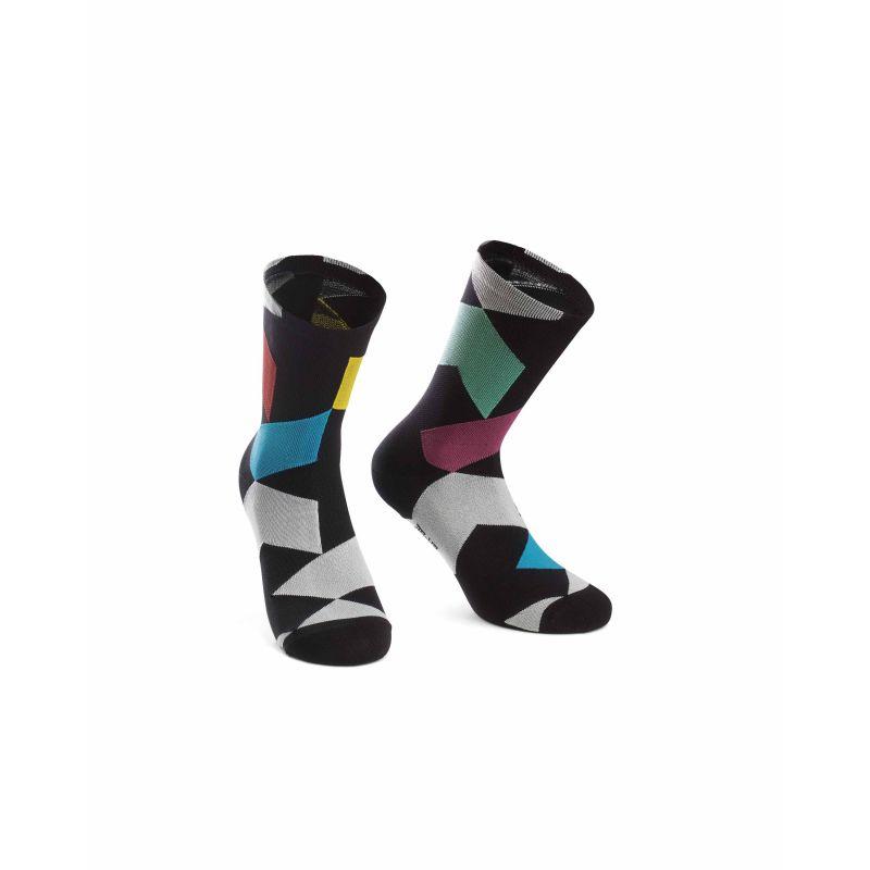 Assos Fastlane Rock Socks - Chaussettes vélo
