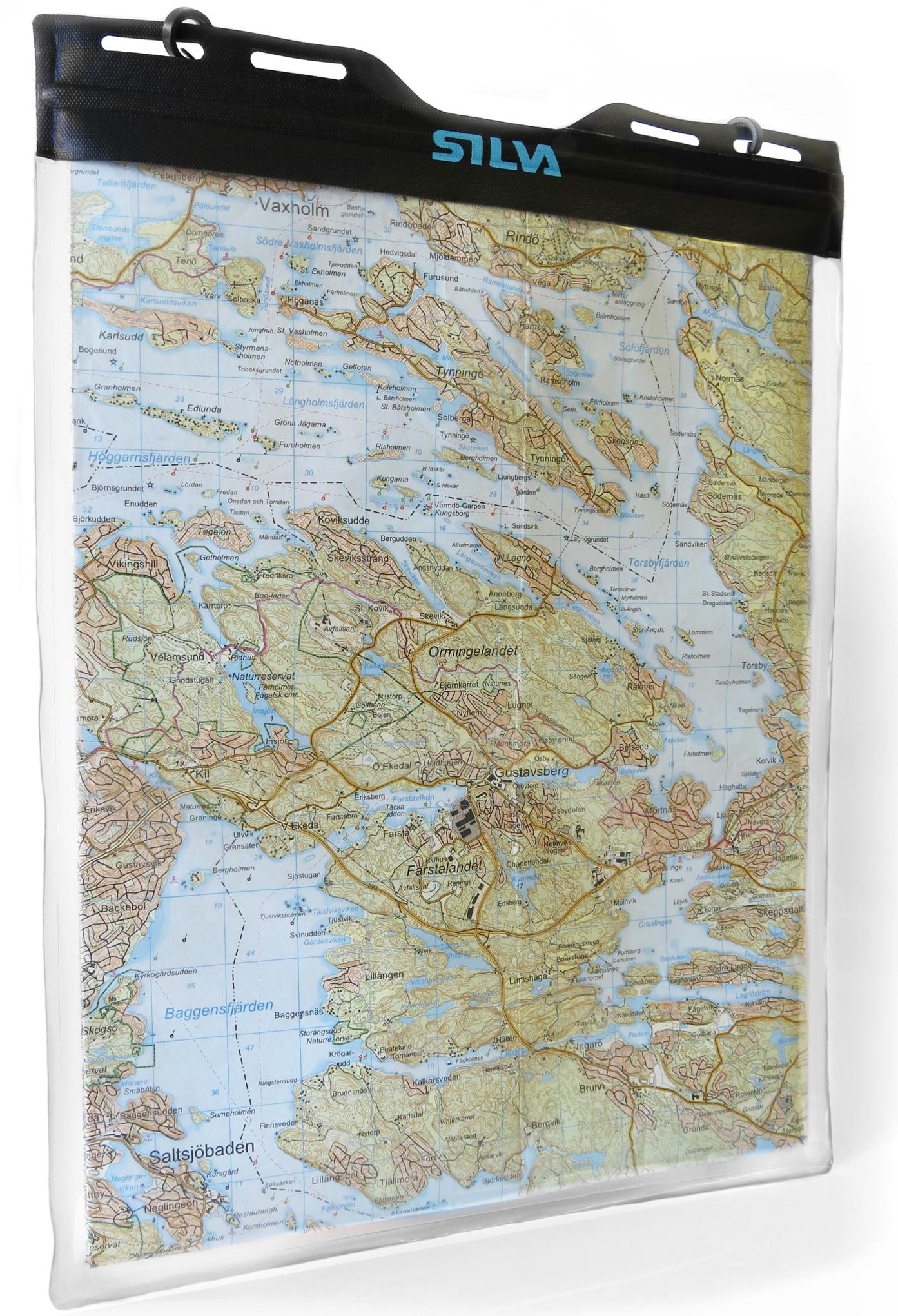 Silva Carry Dry Map A4 - 29,7 x 24 cm - Etui carte randonnée étanche