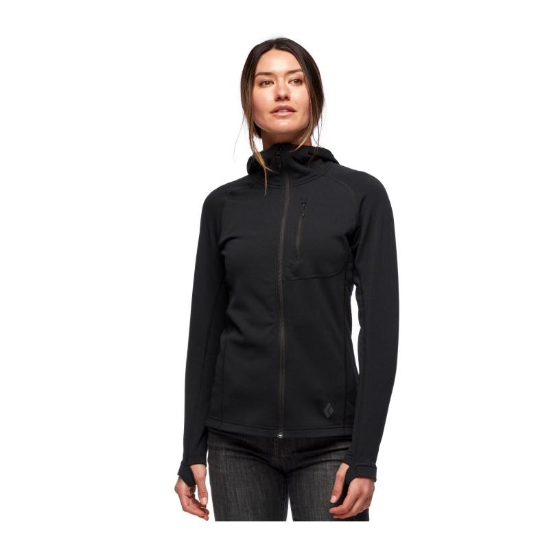 Black Diamond Coefficient Fleece Hoody - Polaire femme