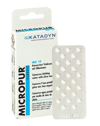 Katadyn Comprimés de purification Micropur Classic MC 1T - 50 comprimés