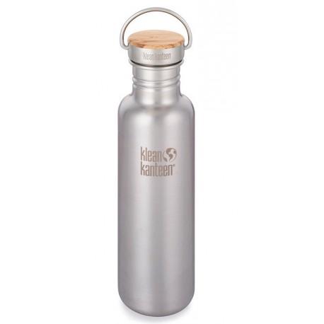 Klean Kanteen Kanteen® Reflect Stainless Unibody Bamboo - 0,800 L - Gourde