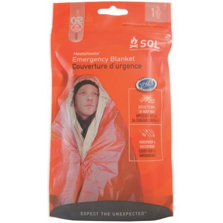 Care Plus Emergency Blanket - Couverture de survie