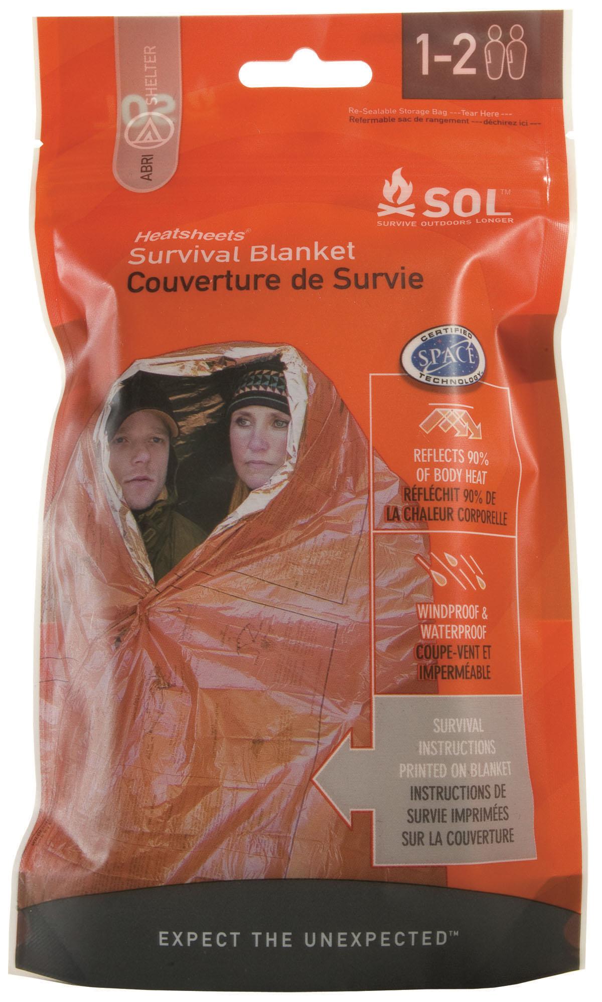 Sol Survival Blanket - Couverture de survie double