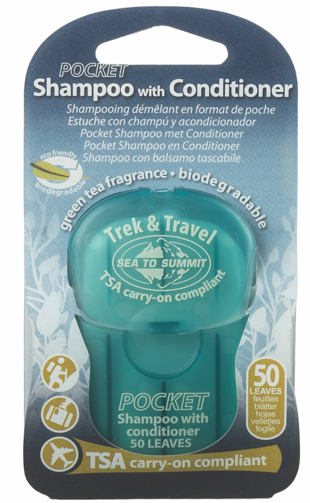 Sea To Summit Savon en Feuilles Shampoing Trek & travel pocket soaps