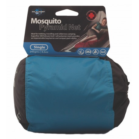 Sea To Summit Simple Mosquito Pyramid Net Single - Moustiquaire
