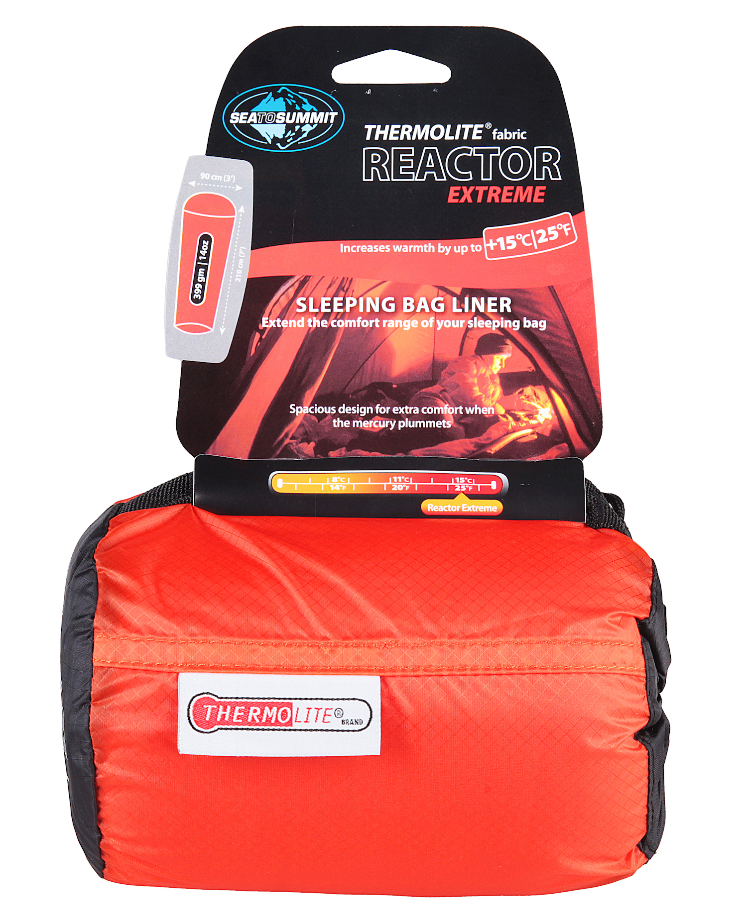 Sea To Summit Thermolite® Reactor Extreme - Drap de sac de couchage