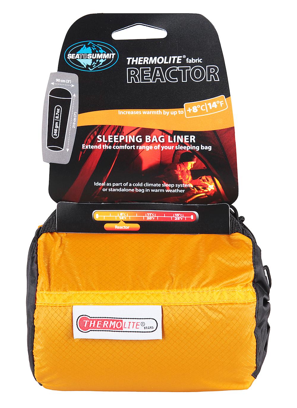 Sea To Summit Drap sac de couchage Thermolite® Reactor - Drap de sac de couchage