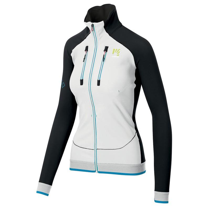 Karpos Alagna Evo Jacket - Veste softshell femme White  Black  Dresden Blue L
