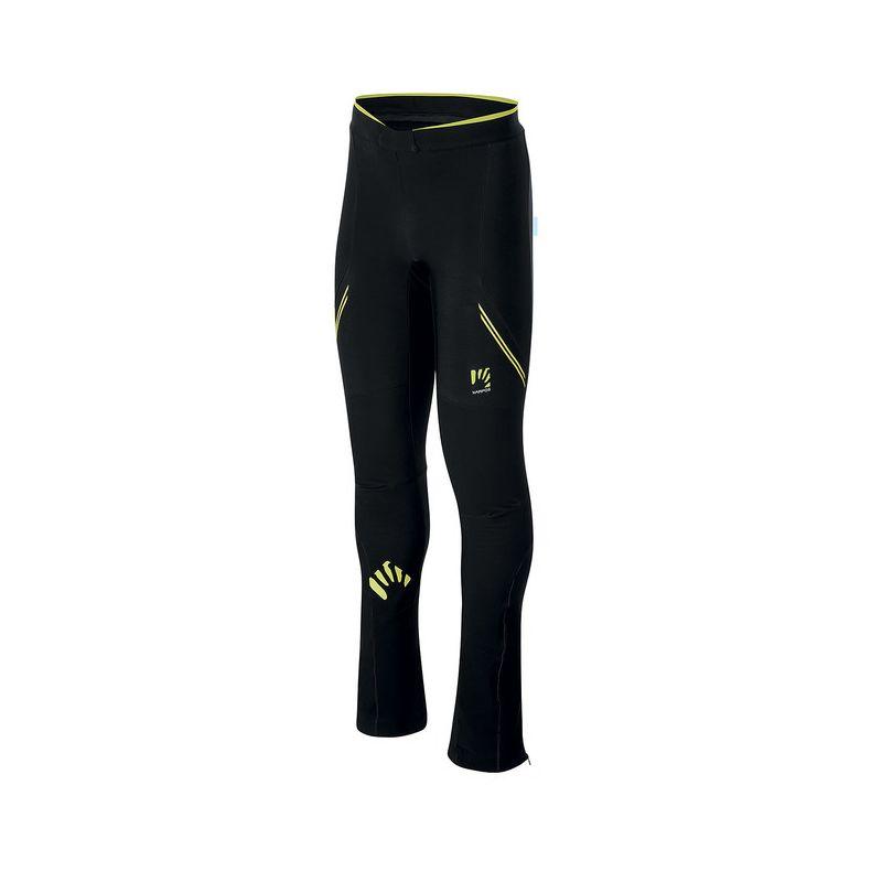 Karpos Alagna Evo Pant - Pantalon softshell homme Black  Asphalt  Yellow Fluo L