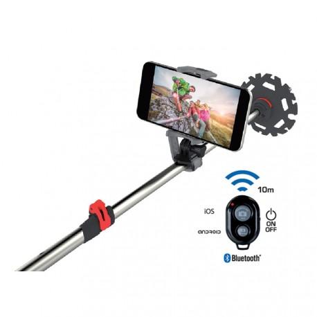 TSL Outdoor Adaptateur à selfie Just Smile Bluetooth