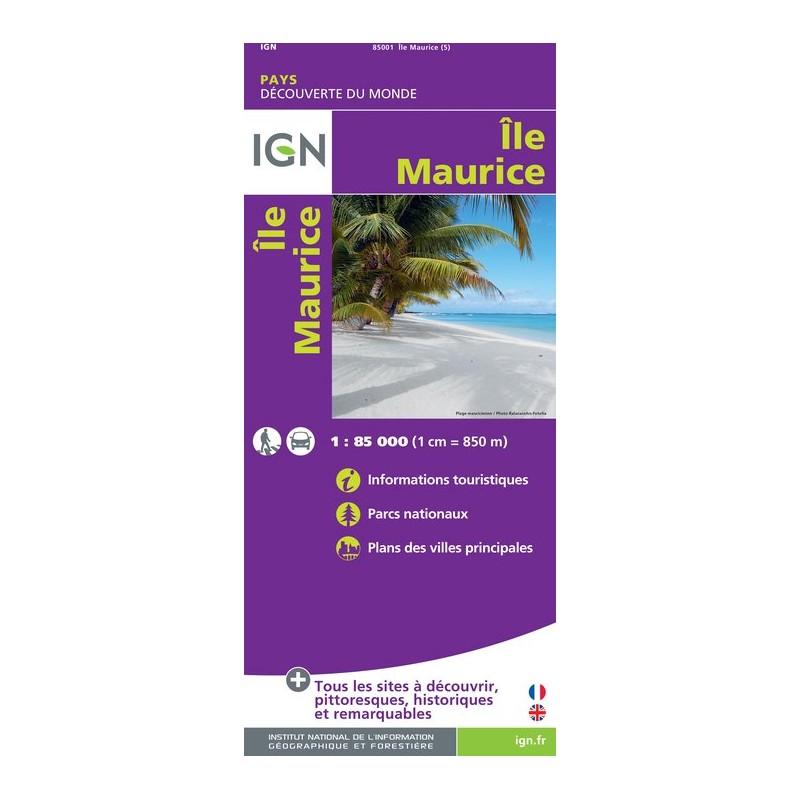 IGN Ile Maurice - Carte topographique