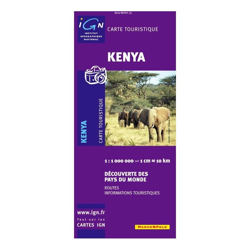 IGN Kenya - Carte topographique