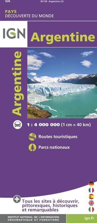 IGN Argentine - Carte topographique