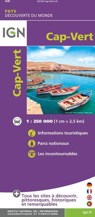 IGN Cap Vert - Carte topographique