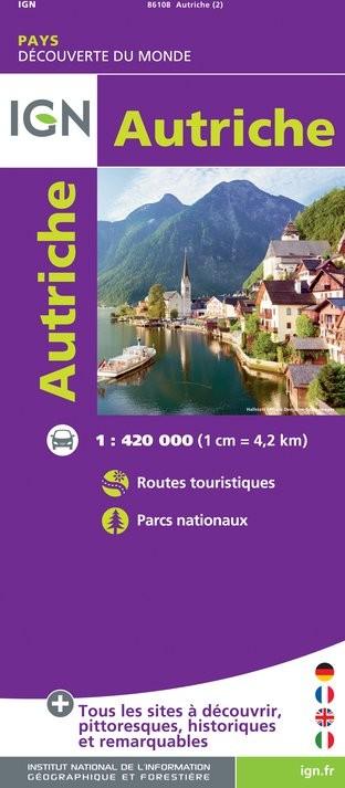 IGN Autriche - Carte topographique