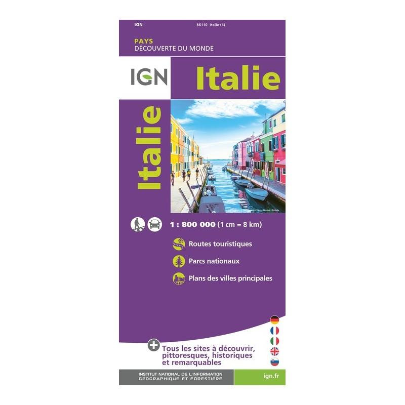 IGN Italie - Carte topographique