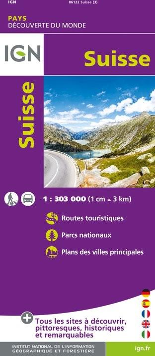 IGN Suisse - Carte topographique