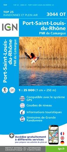 IGN Port-Saint-Louis Du Rhône - Carte topographique