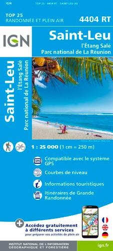 IGN L'Etang Salé (Réunion) - Carte topographique