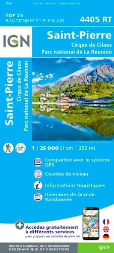 IGN Saint-Pierre (Réunion) - Carte topographique