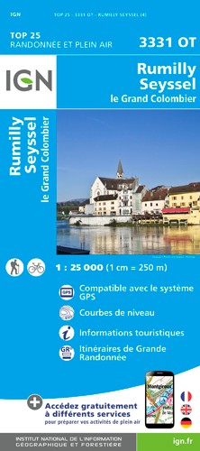 IGN Rumilly - Carte topographique